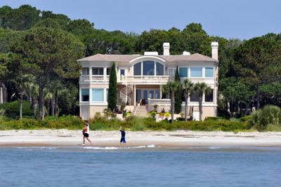 Hilton Head Ocean Front Homes