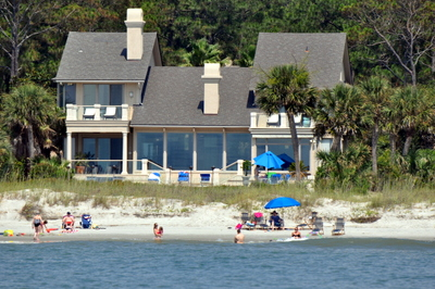 Hilton Head Beachfront Homes