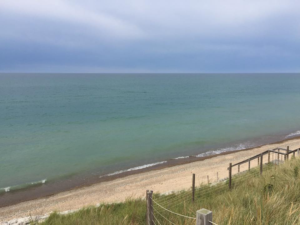 The Beach is Back in Grand Beach, MI