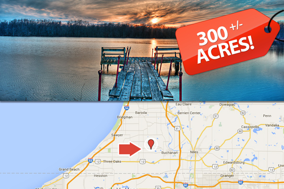 300 Acres in Southwest Michigan, Berrien County