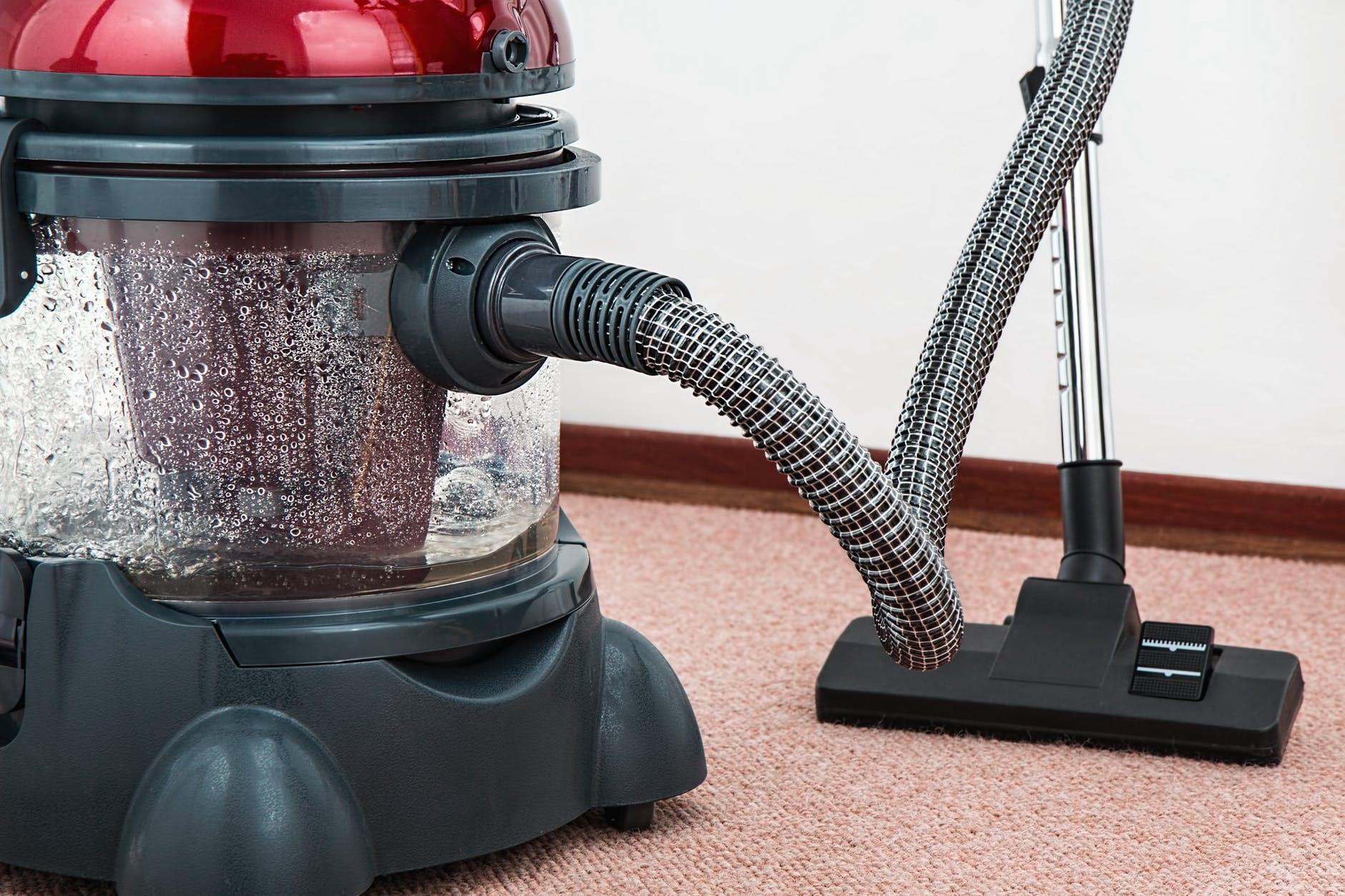 A vacuum.