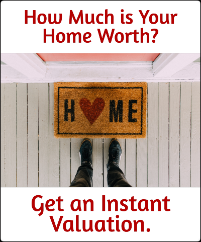Home valuation banner