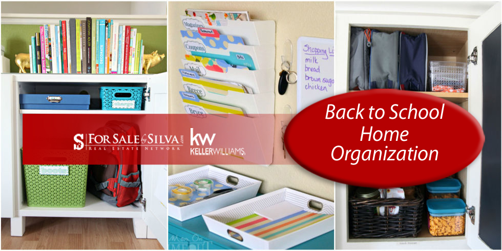 How to keep your home organized this back to school season for How to stay organized at home
