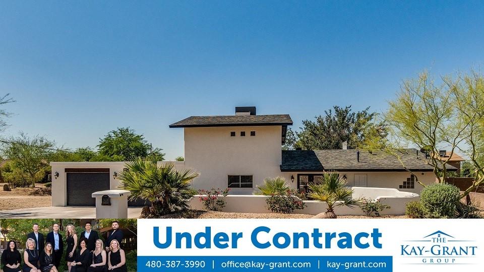 North Phoenix Home Under Contract
