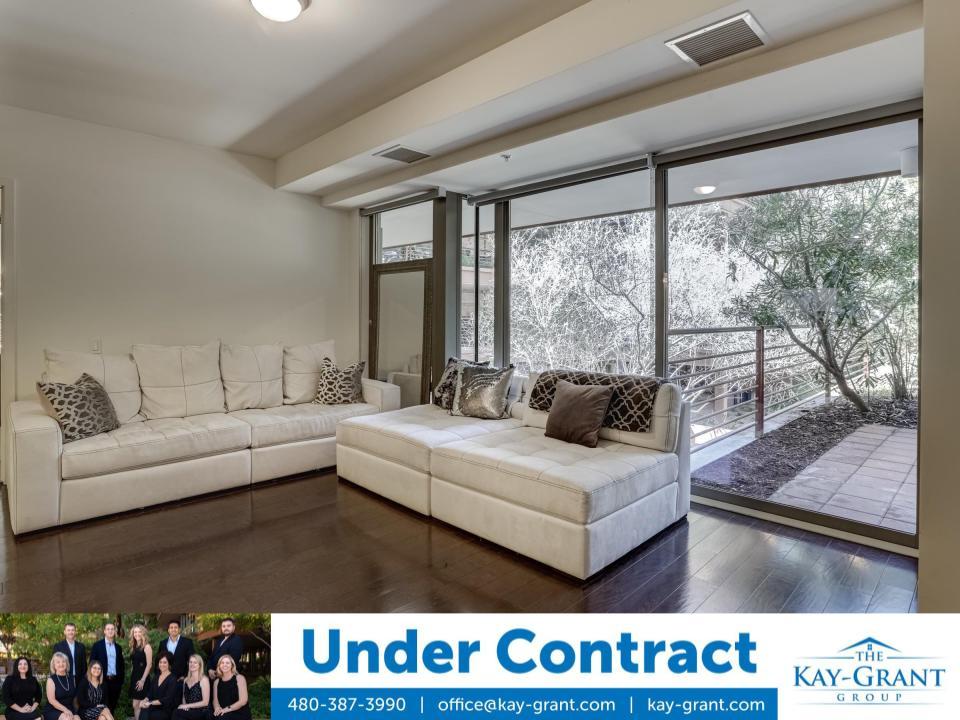 Under Contract 2nd Floor Optima Camelview Condo