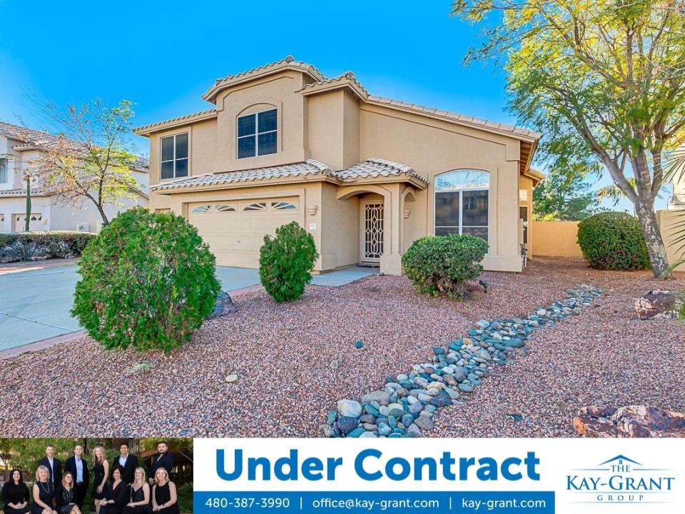 Two-Story Home in Chandler Under Contract