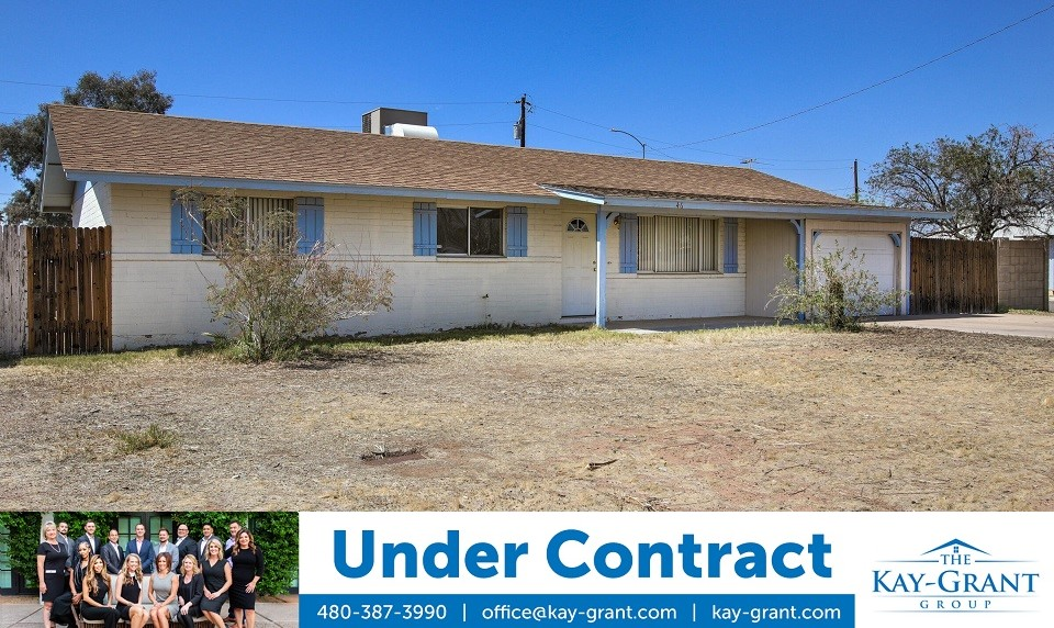 Mesa Investment Property Under Contract