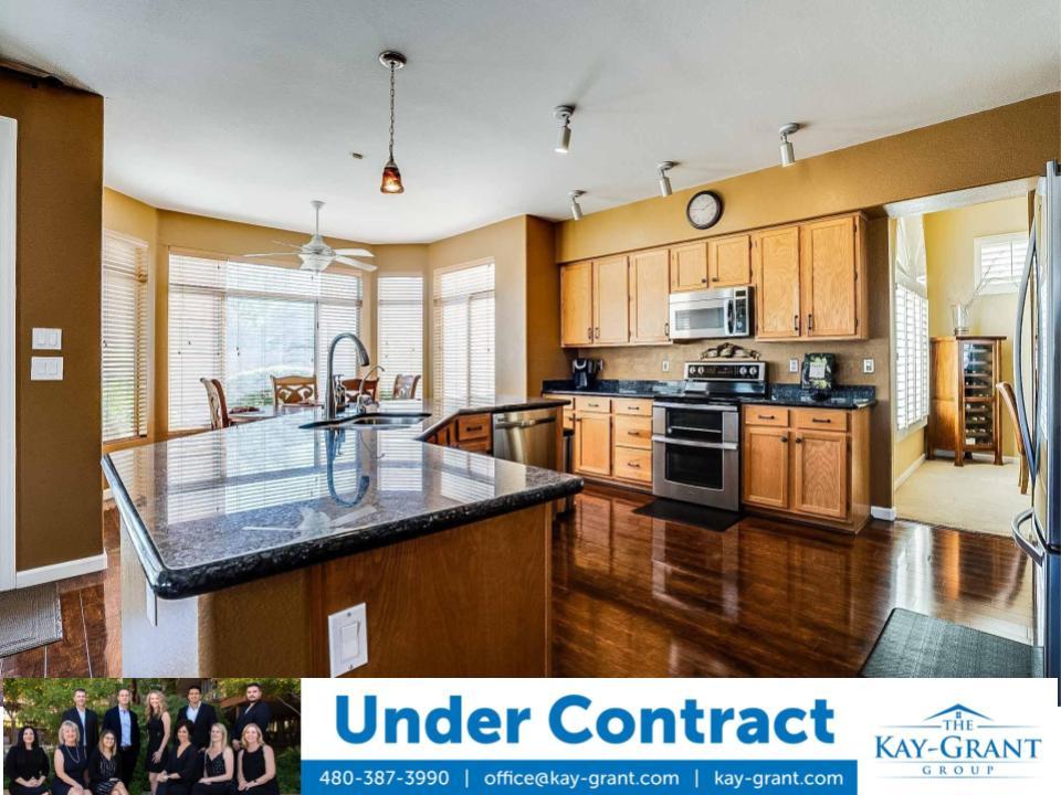 North Scottsdale Home Under Contract Kitchen