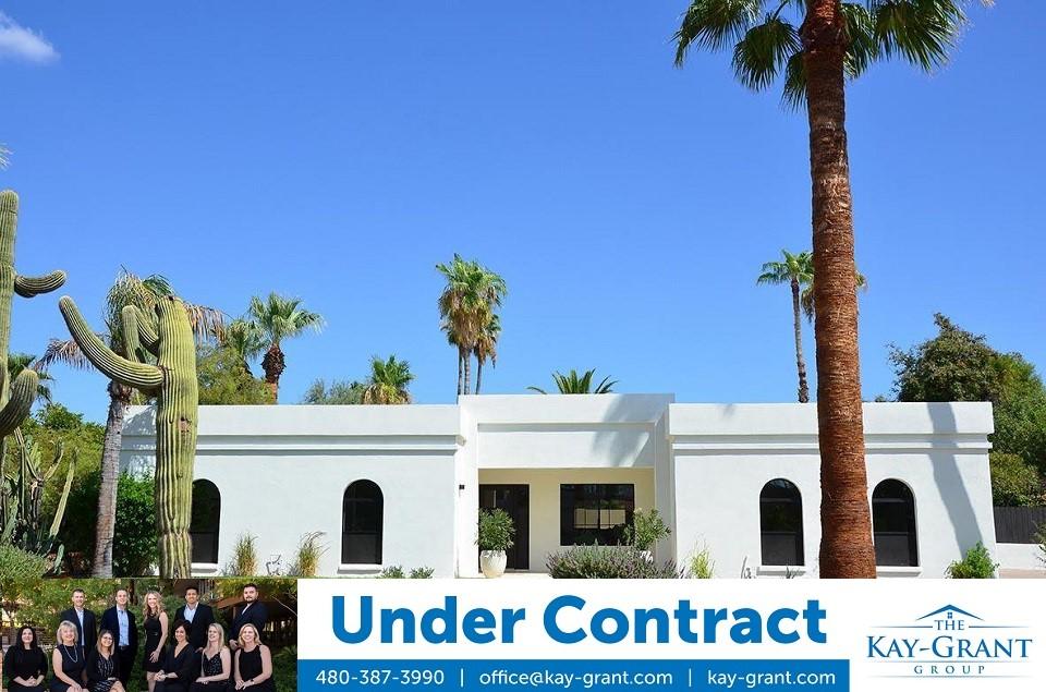 Raskin Estates Scottsdale Home Under Contract