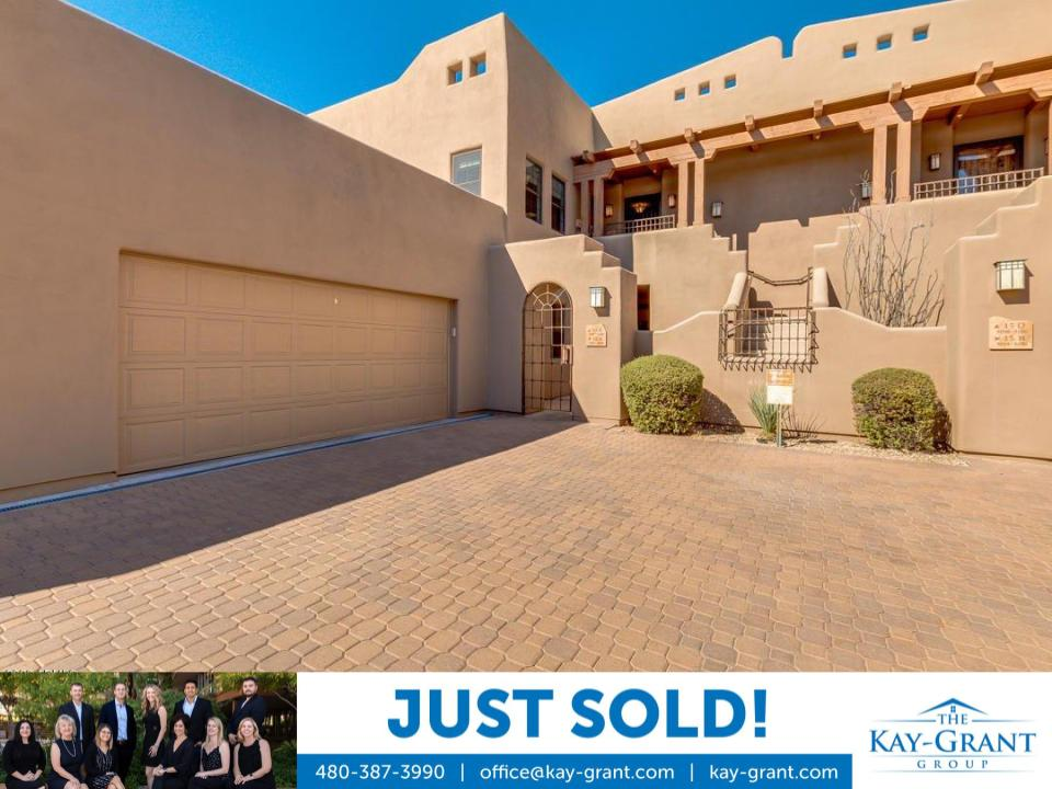 Carefree Condo Just Sold