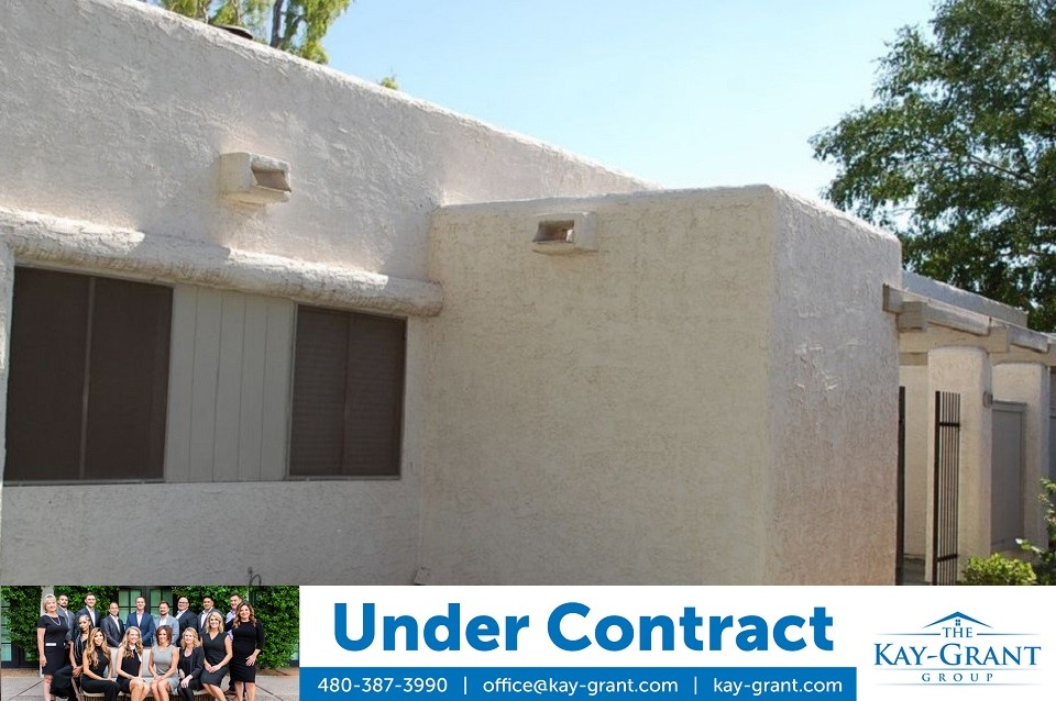 Cozy Tempe Townhome Under Contract
