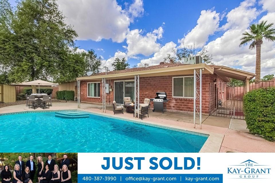 Just Sold Scottsdale Estates Home