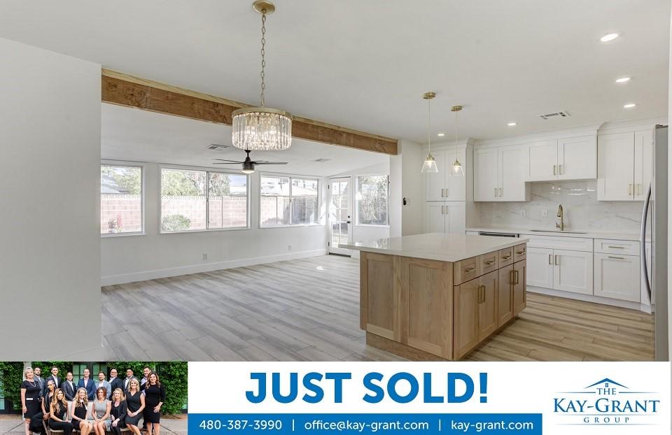 Remodeled Home in Scottsdale Estates Just Sold