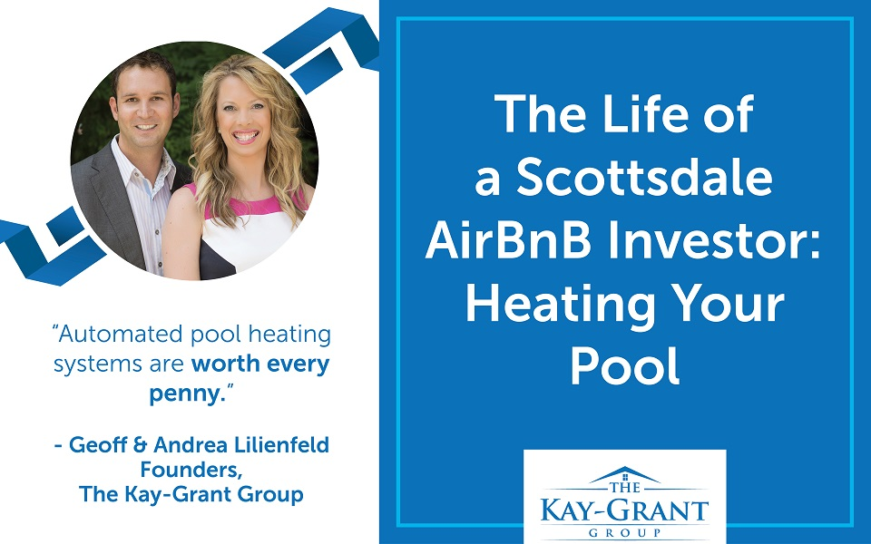Scottsdale Airbnb Investor Heating Pool