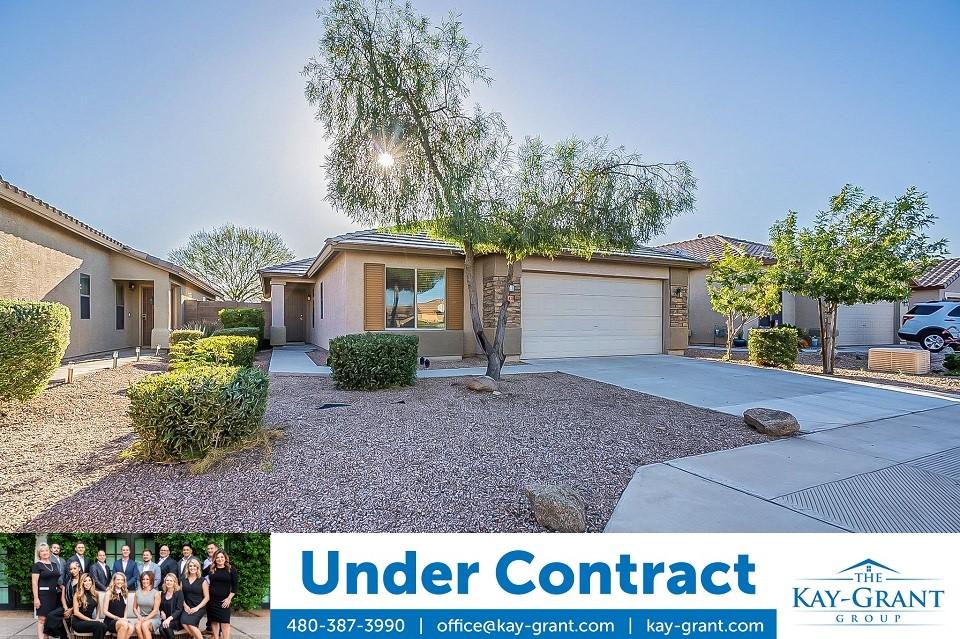 Maricopa Meadows Home Under Contract