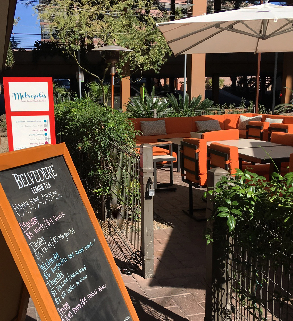 New Tasty Cuisines And New Patio At Metropolis Scottsdale