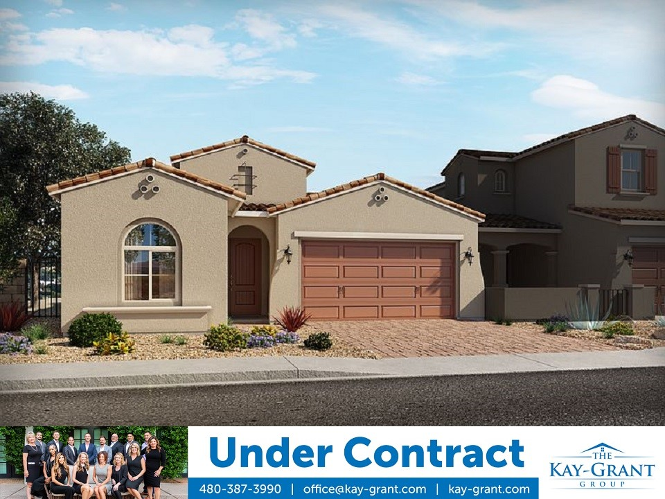 New Construction Home in Goodyear Under Contract