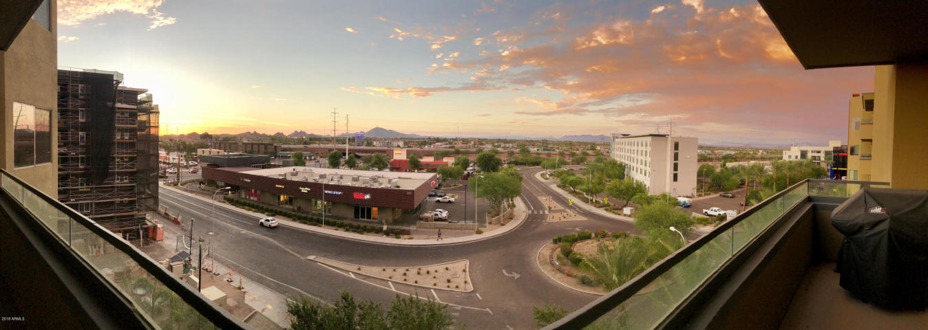 Breathtaking view from a Northshore condo in Tempe