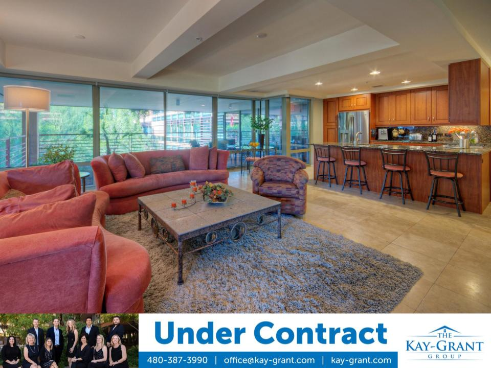 3rd Floor Optima Camelview Under Contract