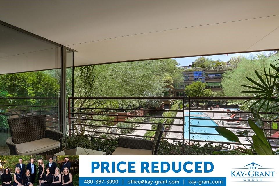Price Reduced on Optima Camelview Condo with Pool Views