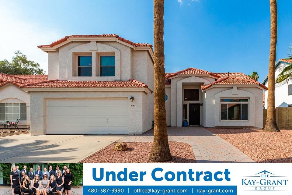 Pecos West Phoenix Home Under Contract