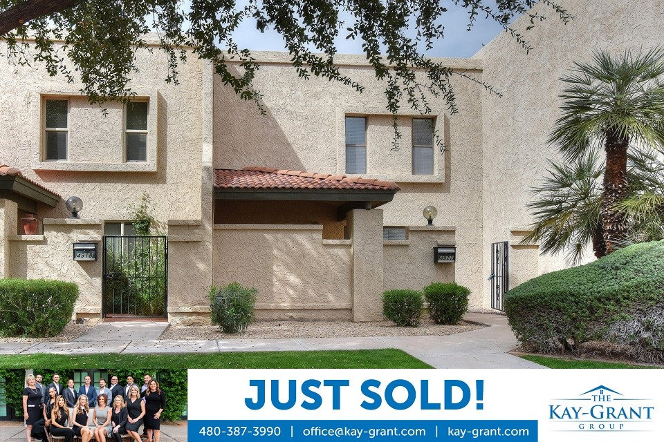 Sonora Shadows Townhome Just Sold