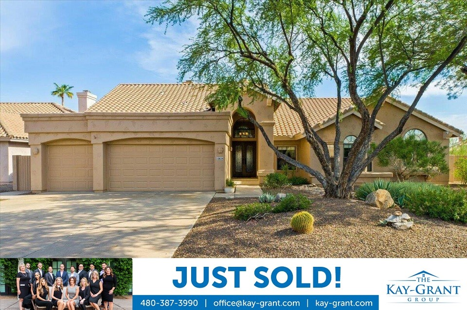 Sonoran Heights Scottsdale Home Just Sold