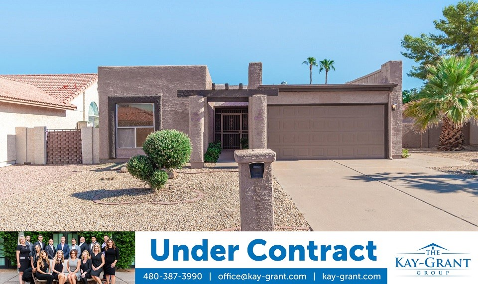 Sun Lakes Golf Community Home Under Contract