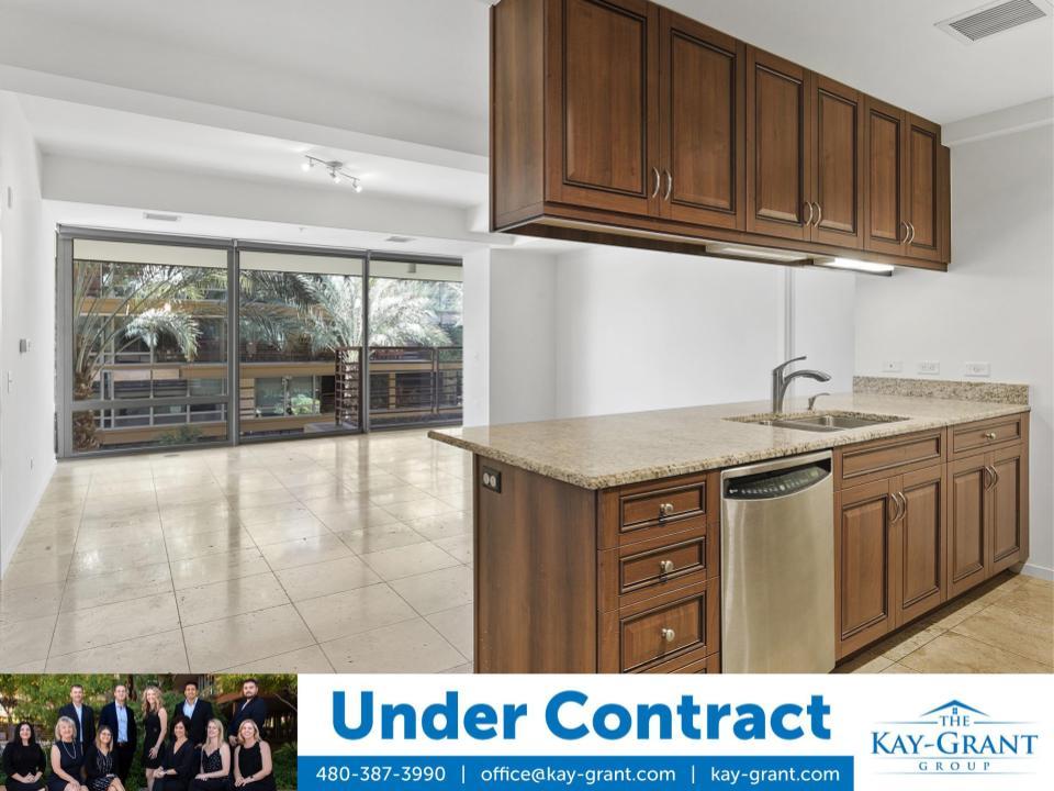 Third Floor Optima Camelview Condo Under Contract