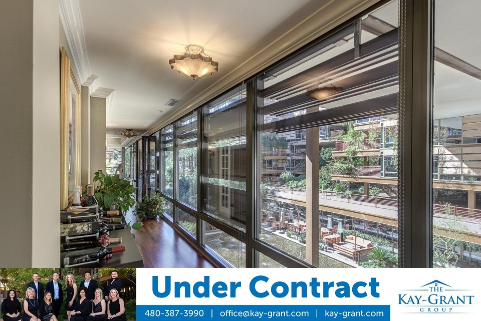 One Bedroom Under Contract Optima Camelview