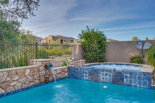 Scottsdale Home for Sale Backyard Pool