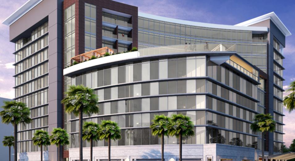 Computer-aided rendering of Caesars Republic Scottsdale