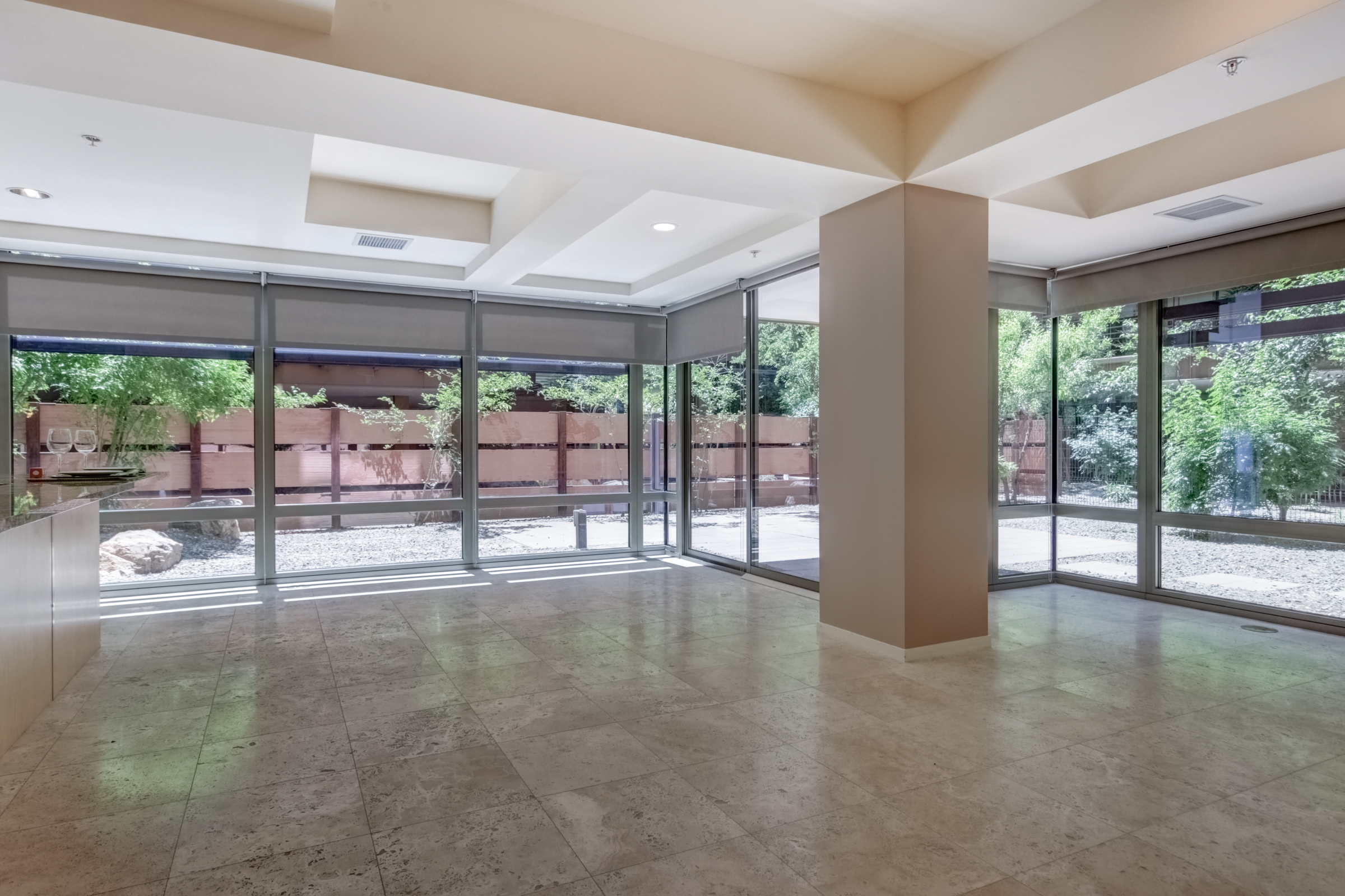 Camelview Village Condo for Rent Living Area