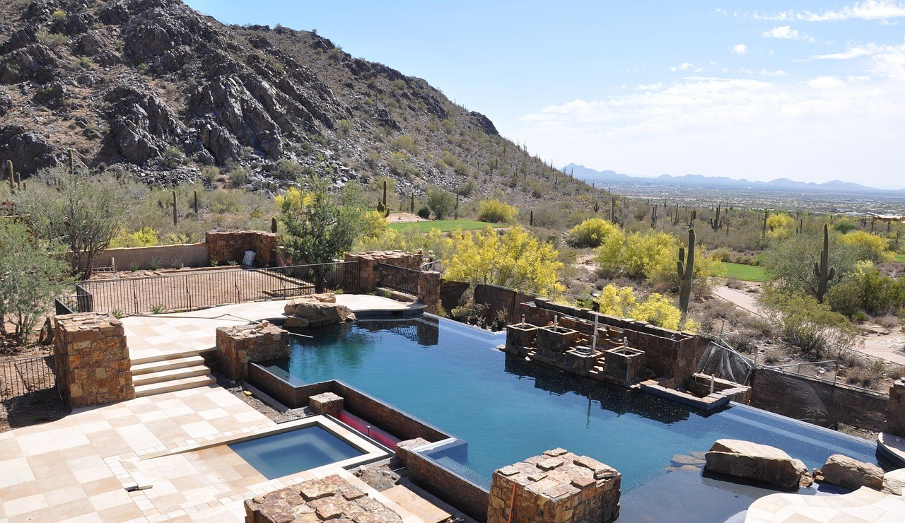 Beautiful Pool in Scottsdale