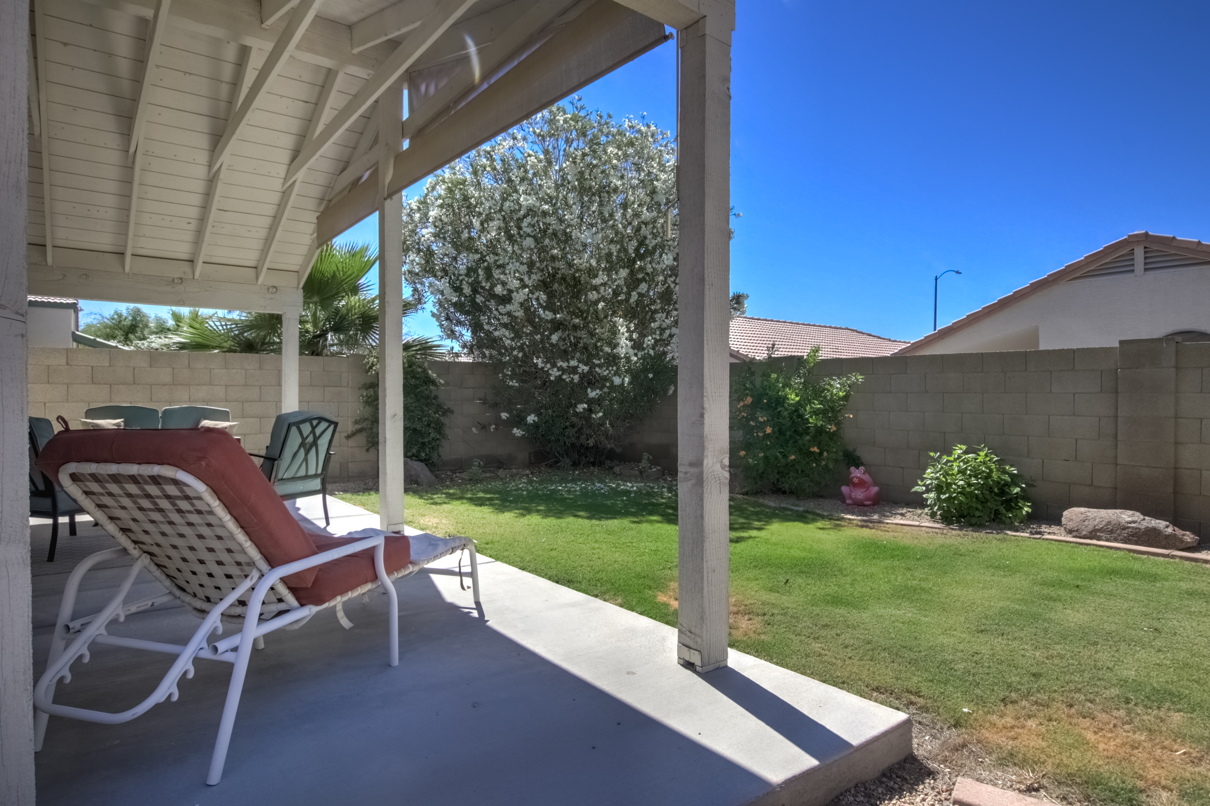 Covered Patio of North Phoenix Home