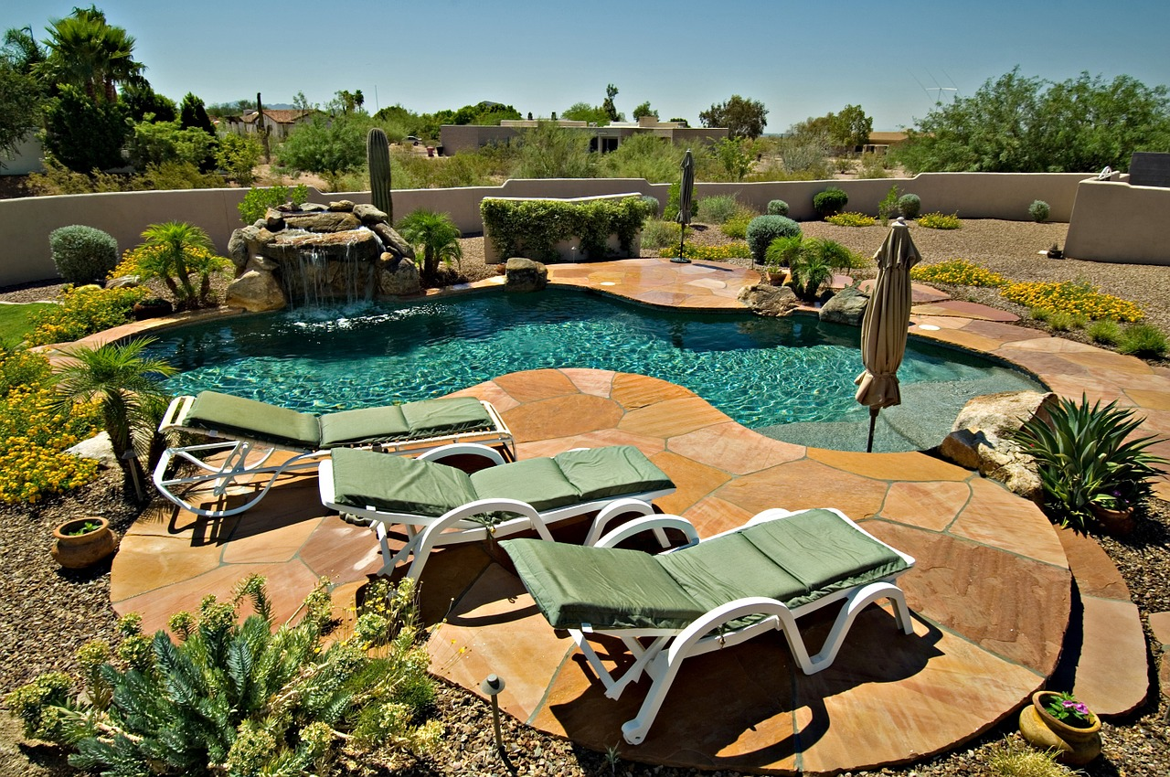 Backyard Pool in Scottsdale - Phoenix