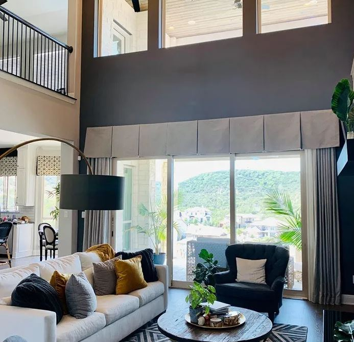 Accent wall is making a come back in 2022