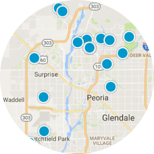 Sun City Grand Real Estate Map Search