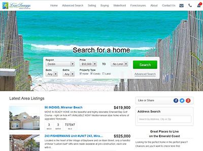 Lisa Snuggs Real Estate Group website