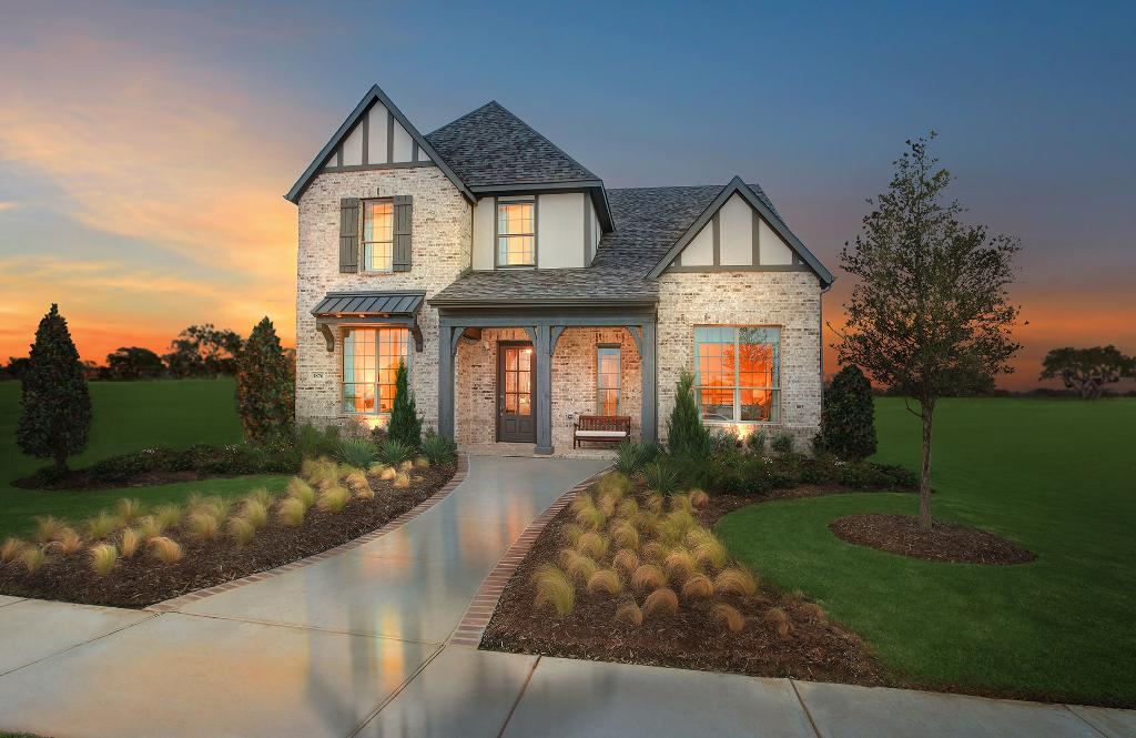 Drees Model Home In Hollyhock Frisco Tx