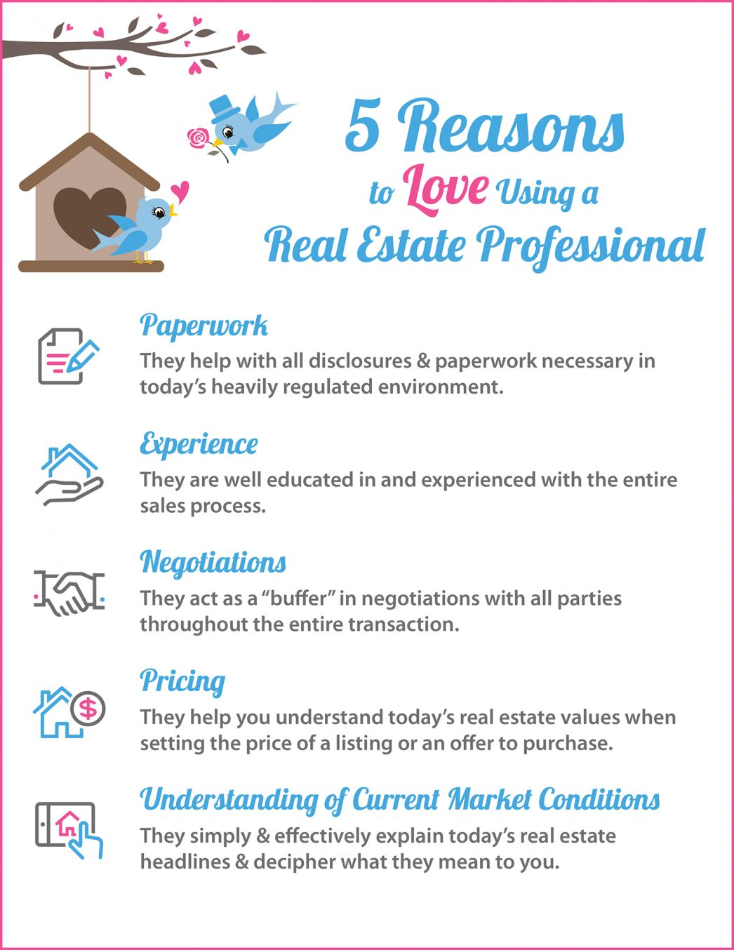 5 Reasons to Love Using A RE Pro [INFOGRAPHIC]