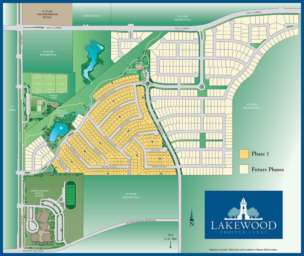 Lakewood Site Plan