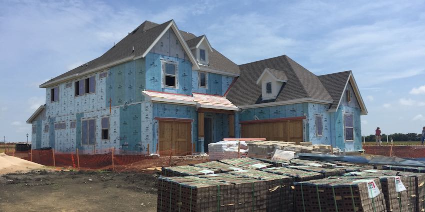 Lakewood Model Home Construction