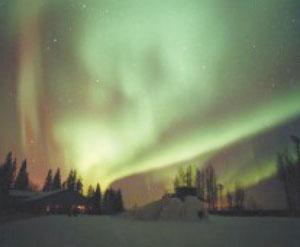 Northern Lights in Northern Alberta