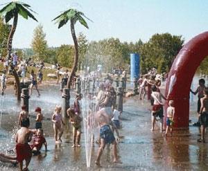 J Howard Pew Splash Park