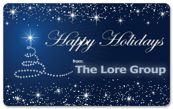 The Lore Group Christmas Card 2011