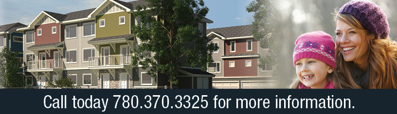 Portage Fort McMurray Townhouse Development: Call 780-370-3325 For Info