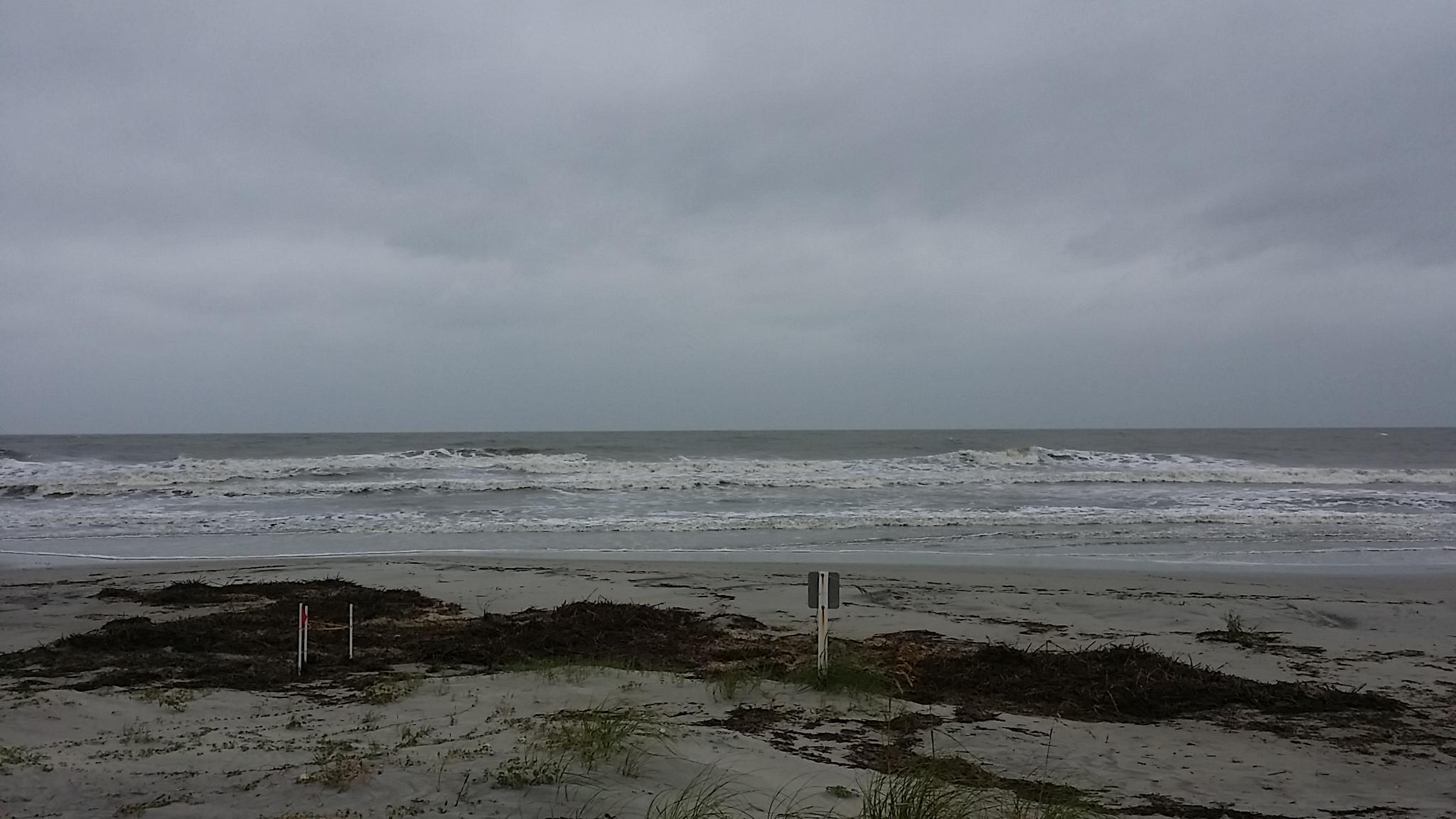 Sea Pines Beach - Hurricane Irma