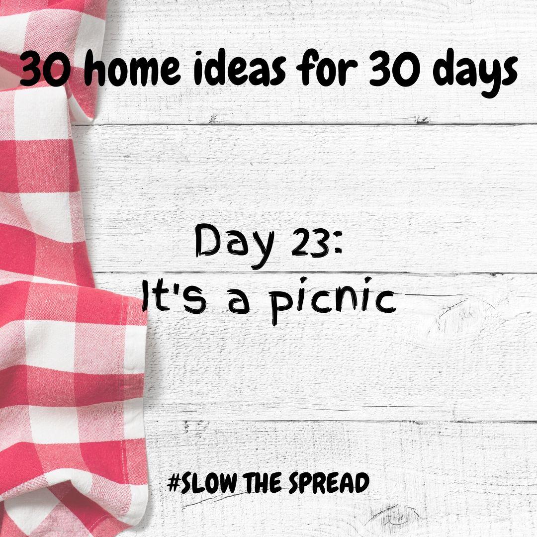 Day 23 picnic