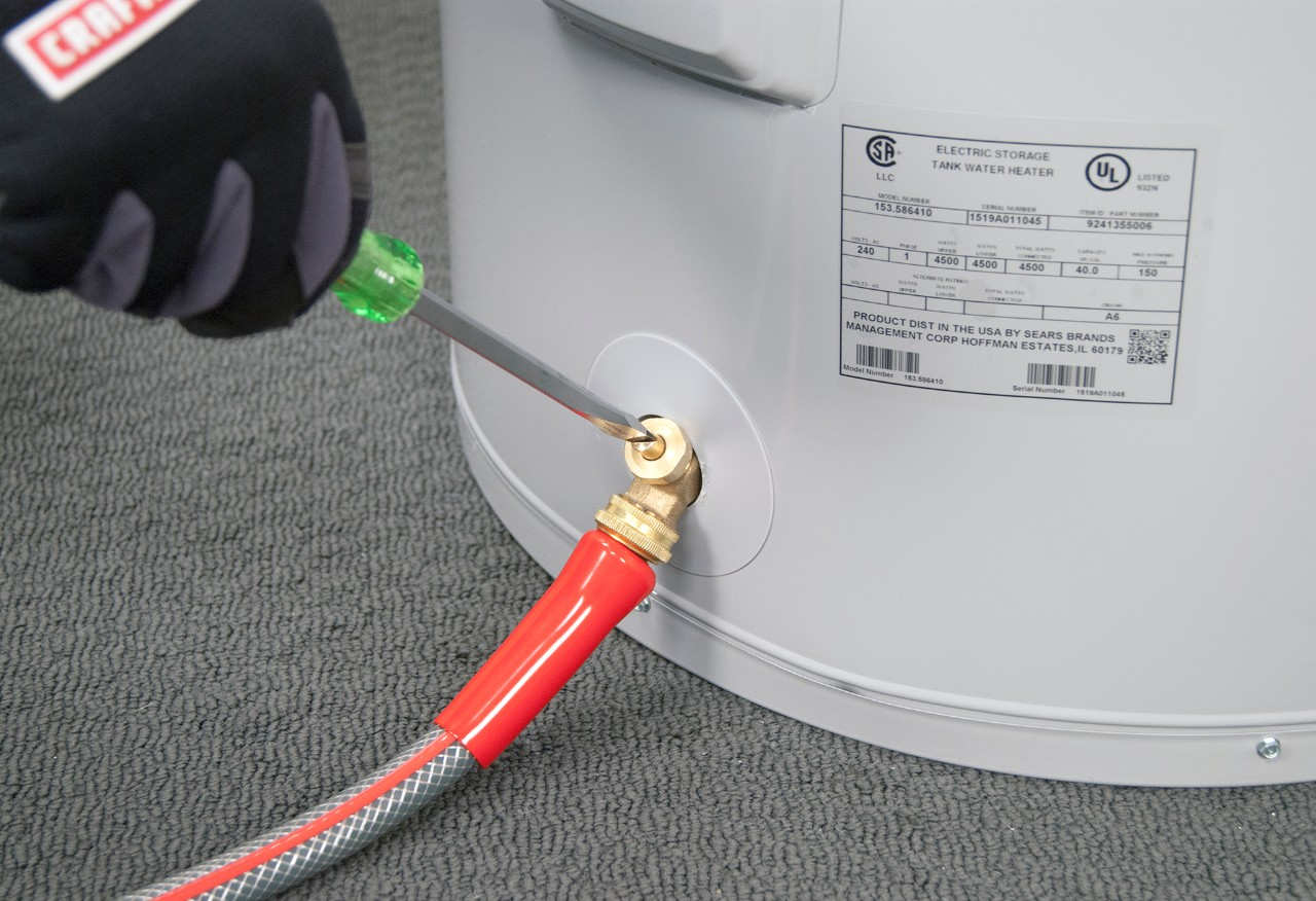 Draining Your Hot Water Heater